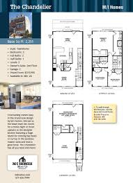 mi homes floor plans the chandelier m i homes new homes guide town homes