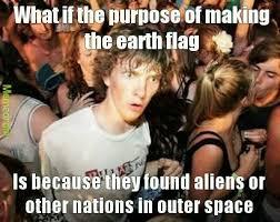 Google It Meme - there is an earth flag google it meme by sergiohbarta memedroid