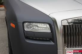 roll royce grey rolls royce ghost gunmetal grey wrap