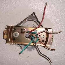 Ceiling Fan Hanger Bar by Plastic Ceiling Fan Box Internachi Inspection Forum