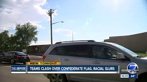 Flag Of Denver Reports Of Confederate Flag Display Racial Slurs During Football