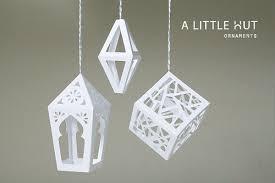 a hut zapata paper ornaments
