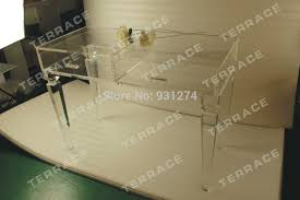 Clear Vanity Table Wonderful Acrylic Vanity Table With Clear Console Table Bathroom