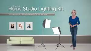 home photography lighting kit the erin manning home studio lighting kit youtube