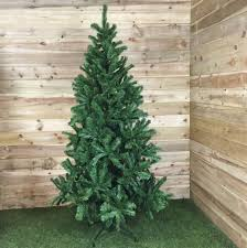 7ft green artificial colorado spruce tree 210cm