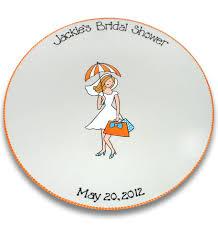 bridal shower autograph plate bridal shower girl signature platter by serendipitycrafts