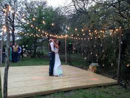 Cost Of Backyard Wedding Hey Let U0027s Make A Dance Floor Only 24 Plus Cost Of Paint For