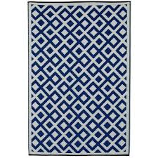 Royal Blue Outdoor Rug Outdoor Rug Recycled Plastic Lhasa Royal Blue And Chocolate
