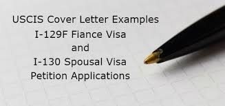uscis cover letter examples form i 129f petition for alien fiance