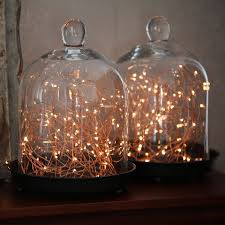 Decorative String Lights Bedroom Starry Warm White Copper String Lights 100ft Copper Wire