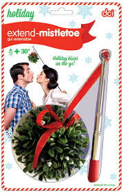 amazon com dci decorative extend telescopic mistletoe for holiday