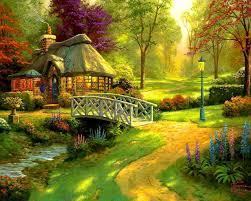 lovely forest cottage wallpaper 71619 hq desktop wallpapers