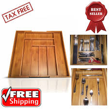 Flatware Tray Organizer Reed U0026 Barton Drawer Liner Pad Brown Silverware Holder Cloth Dl108