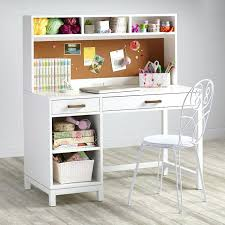 Desk Hutch Ideas Cargo Desk Hutch White Craft Desk With Storage Childrens Craft