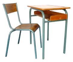 bureau d ecolier bureau d écolier et sa chaise vintage ées 50 design market
