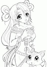 coloring pages for anime coloring home