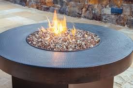 Rocks For Firepit Glass Rock Pit Pit Ideas