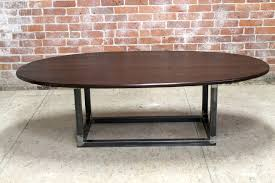 classic oval coffee table furniture adler fusion base ebreg