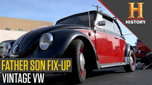 vintage volkswagen convertible vintage vw convertible fix up pawn stars youtube