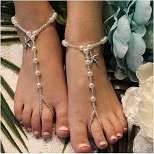 starfish barefoot sandals key west flower girl barefoot sandals starfish silver starfish