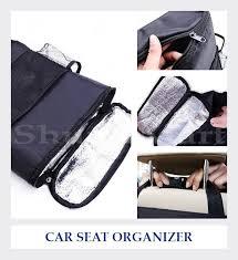 Tas Keranjang Pendingin Kursi Mobil 9l Oxford emwe co car seat organizer tas aksesoris mobil tempat tisue majalah