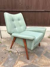 50s Armchair Teak Vintage Retro Armchairs Ebay