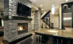 Stacked Stone Outdoor Fireplace - stacked stone fireplace pictures es stacked stone castaway int
