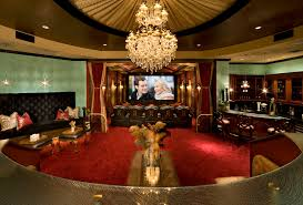 Movie Drapes Movie Room Ideas Home Theater Traditional With Heavy Velvet Drapes