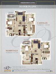 floor plans the westmore senior living