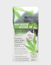 organic hemp oil restoring hair u0026 scalp treatment by dr organic