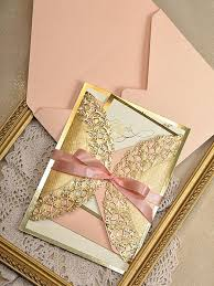 wedding invitations and gold coral and gold wedding invitations plumegiant