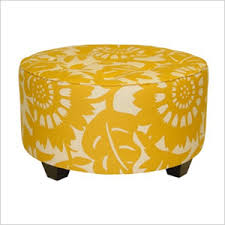Floral Ottoman These Stylish Ottomans Refuse To Go Unnoticed