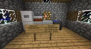 minecraft furniture kitchen furniture minecraft project