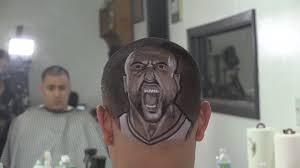 a cut above spurs fans show team pride with amazing haircuts