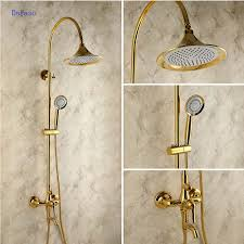 dofaso creative design brass rainfall grohe shower faucet with