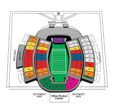 Ohio Stadium Map by Sooner Seating