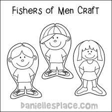 fishers men bible crafts