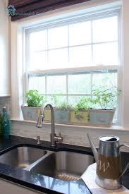 window herb gardens build your own custom kitchen herb planter pretty handy girl