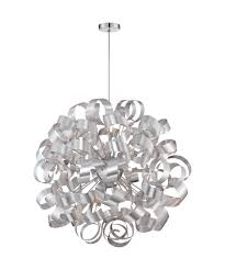 quoizel rbn2831 ribbons 31 inch wide 12 light large pendant