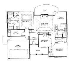 one level open floor plans 39 lovely house plans one level open floor plan house level design