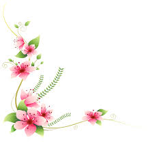 pink flower clipart flower decoration pencil and in color pink