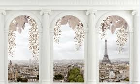 cheap architectural wall murals free shipping architectural wall custom large murals fabric wallpaper 3d wall sitting room b15 bedroom tv sofa background european classical architectural romantic paris