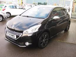 peugeot black used black metallic peugeot 208 for sale lincolnshire