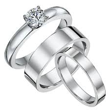 His And His Wedding Rings by Matching Titanium Wedding Ring Sets His And Hers Titanium Diamond