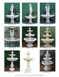 3 ornamental water fountains ed s concrete products ornamental