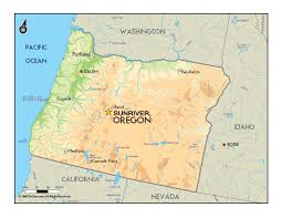 map of just oregon where is sunriver sunriver memories