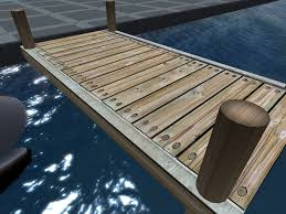 second marketplace nautical wood boat dock plank section