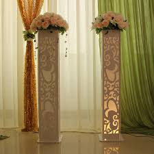 wedding arches and columns wholesale wedding decoration supplies stage heart design carved pillar