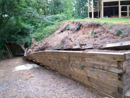 grass masters and designs timber retaining walls amp steps