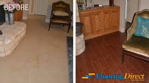 Carpet Versus Laminate Flooring Original Carpet Flooring Vs New Wood Look Tile Flooring U2013 Flooring